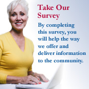 Take Our Survey